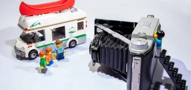 lego people and camera